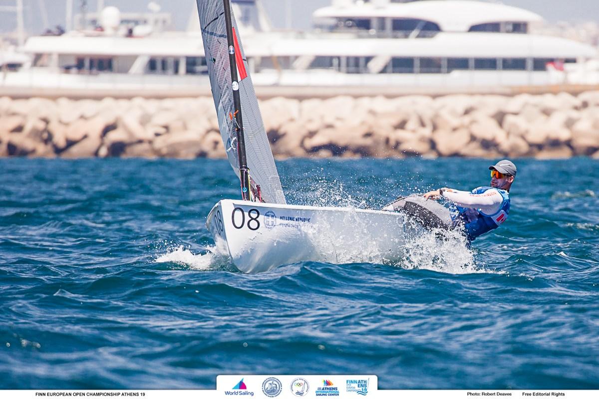Finn - European Championship 2019 - Athens GRE - premières régates aujourdhui