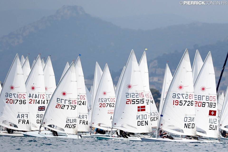 Laser - Europacup 2019 - Act 3 - Hyères FRA - Day 2