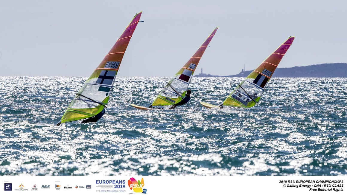 RS:X-Windsurfer - European & European Youth Championship 2019 - El Arenal ESP - Day 2