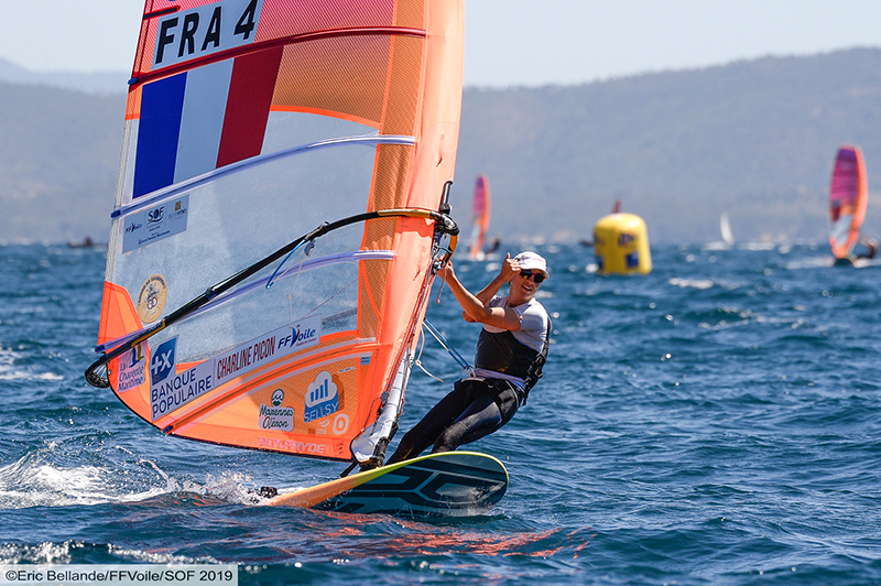 RS:X-Windsurfer - Semaine Olympique - Hyères FRA - Day 2