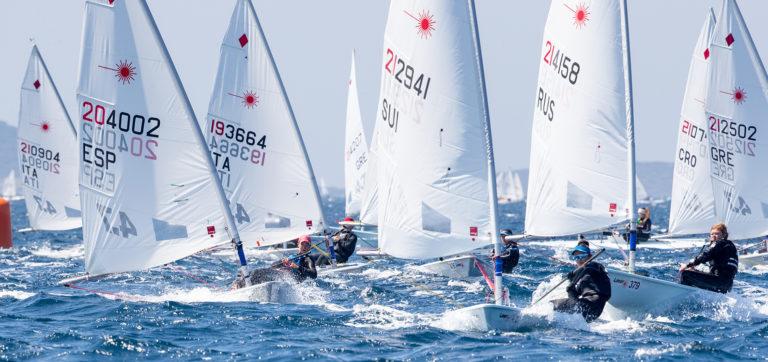 Laser 4.7 - European Championship 2019 - Hyères FRA - Day 2