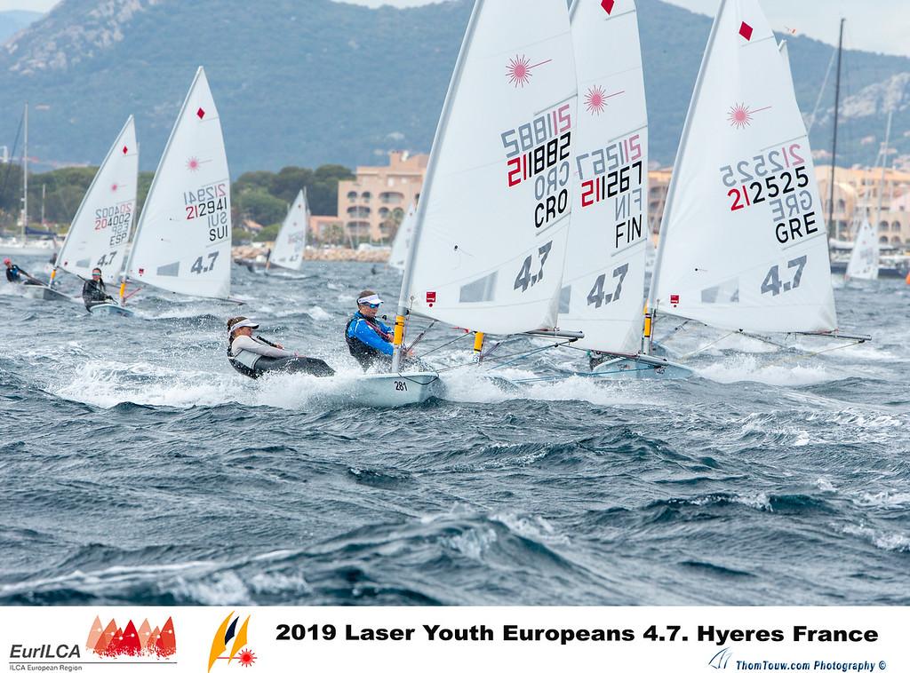 Laser 4.7 - European Championship 2019 - Hyères FRA - Day 1