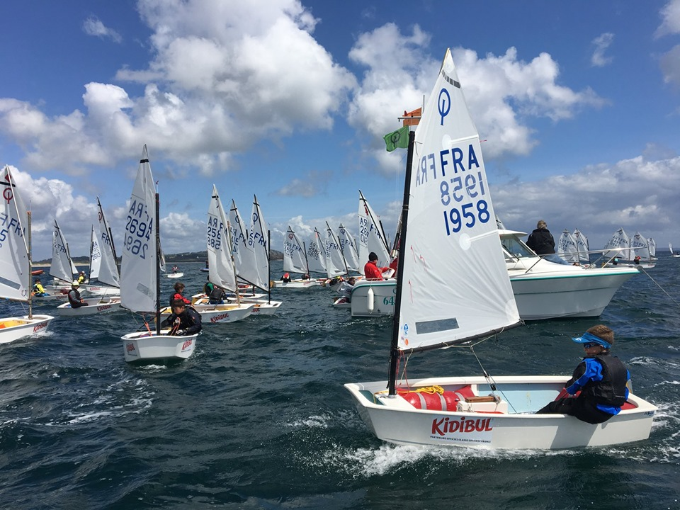 Optimist - European Championship - Crozon-Morgat FRA - Day 1