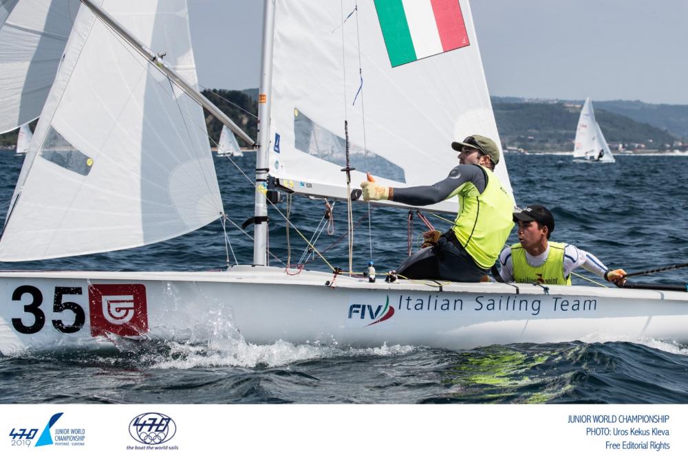 470 - Junior World Championship 2019 - Portoroz SLO - Day 5 - Erster Titel vergeben
