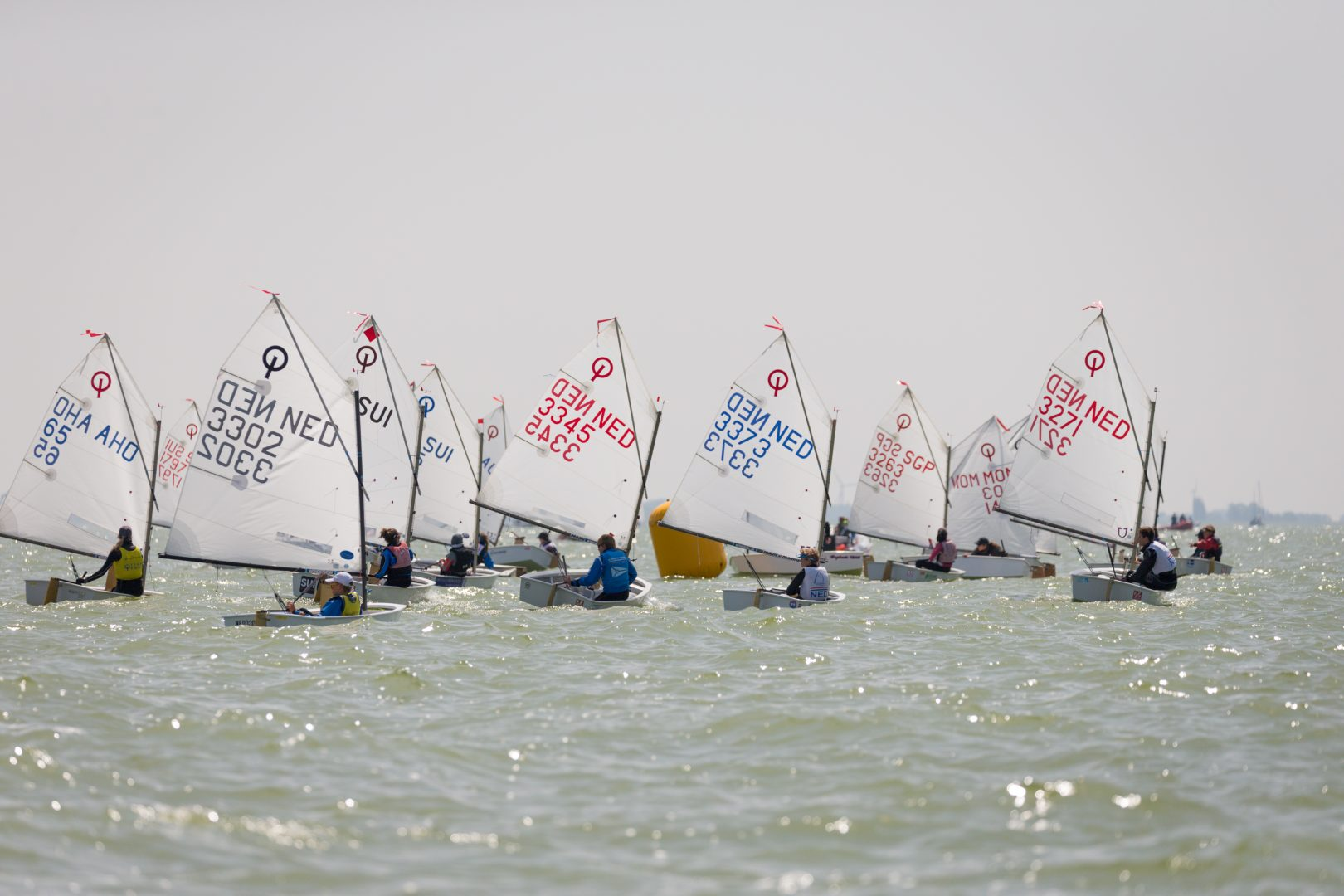 Optimist, Laser, 29er, Nacra 15, var. classes - Dutch Youth Regatta - Workum NED - Day 3