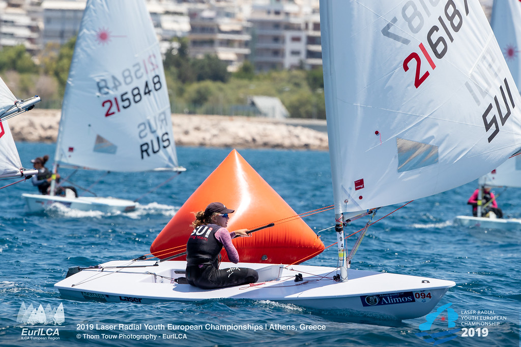 Laser Radial - European Youth Championship 2019 - Athens GRE - Day 4