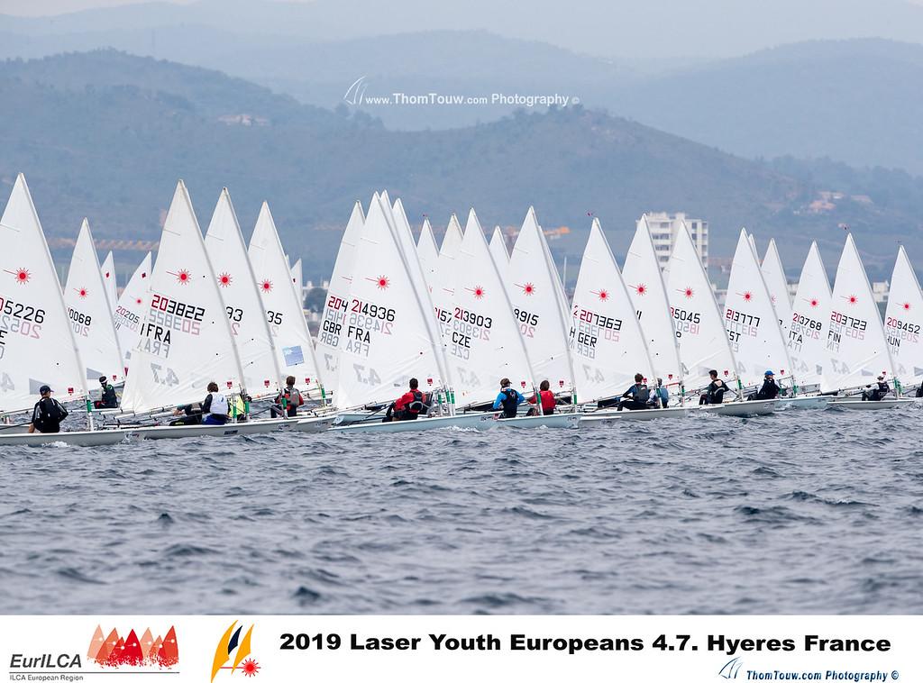Laser 4.7 - European Championship 2019 - Hyères FRA - Final results