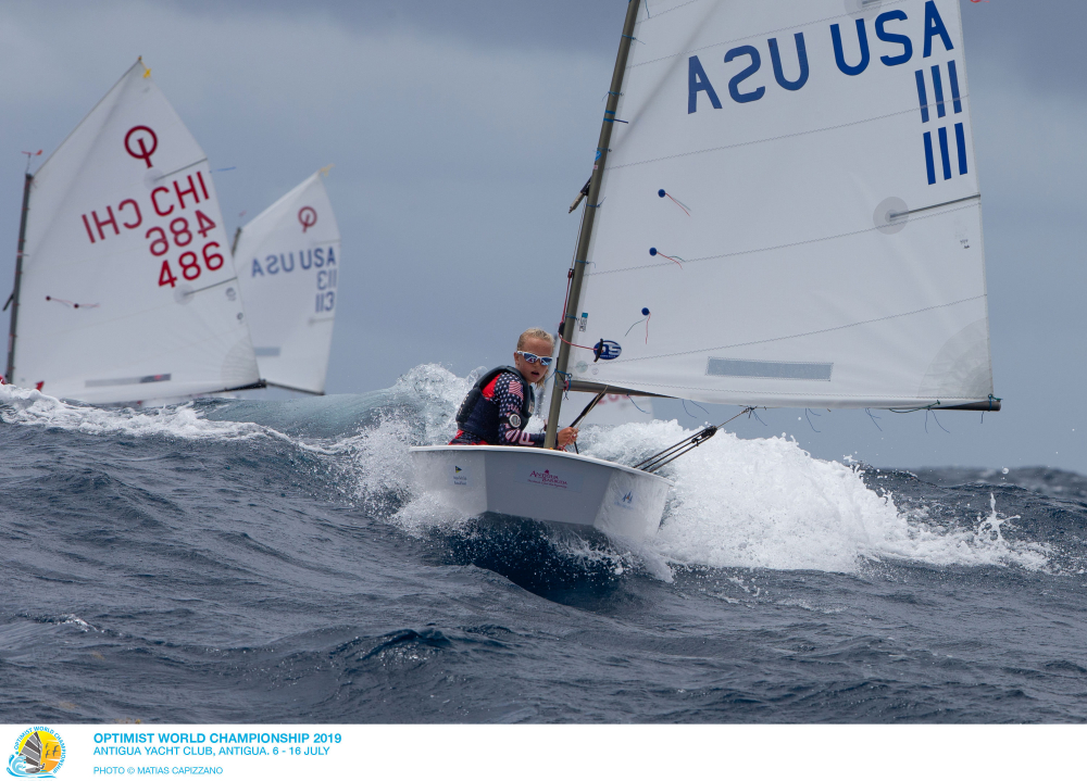 Optimist - World Championship 2019 - English Harbour ANT - Day 6