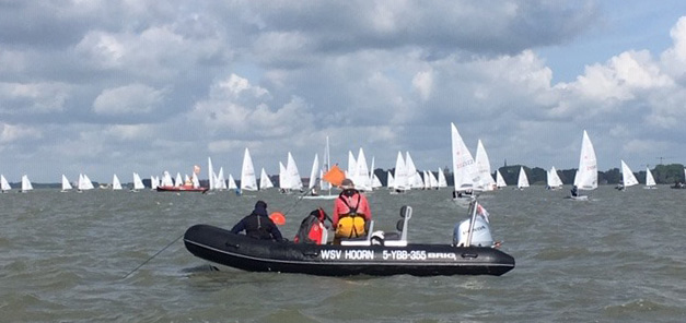 Laser - Europacup 2019 - Act 5 - Hoorn NED - Final results