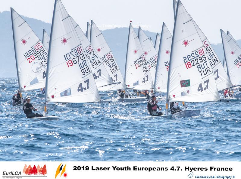 Laser 4.7 - European Championship 2019 - Hyères FRA - Day 4