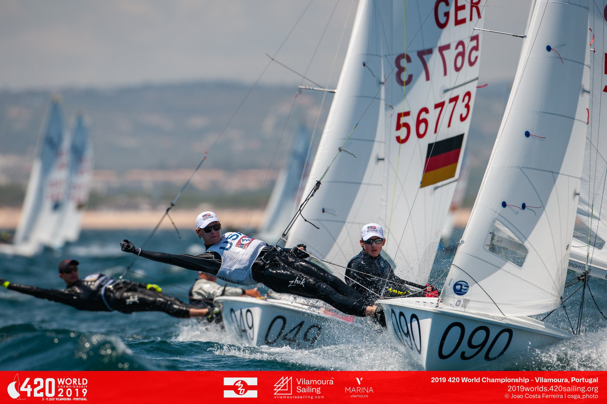 420 - World Championship 2019 - Vilamoura POR - Day 3