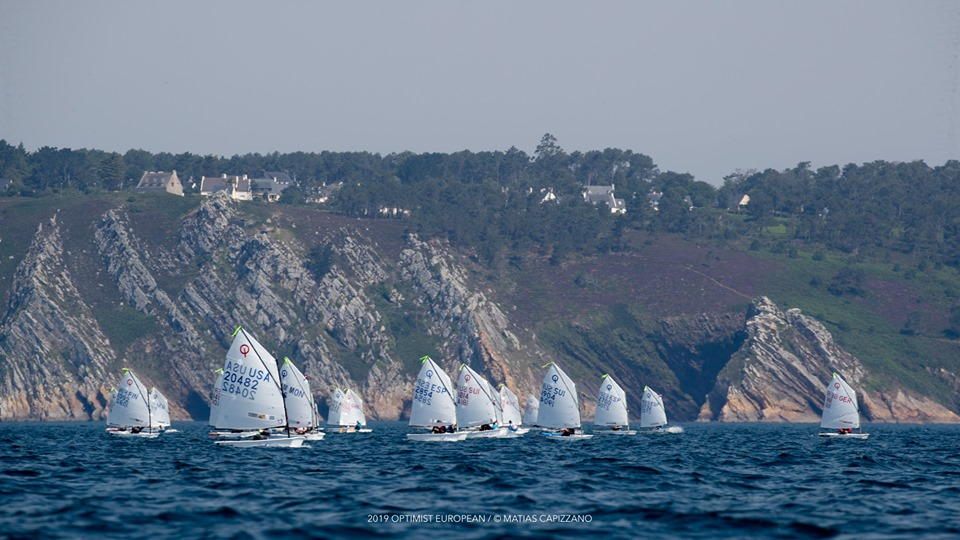 Optimist - European Championship 2019 - Crozon-Morgat FRA - Day 3