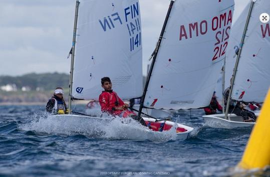 Optimist - European Championship - Crozon-Morgat FRA - Départ aujourdhui