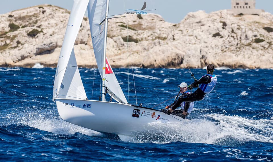 Olympic Worldcup - Finals - Marseille FRA - Day 2 - Windy day !