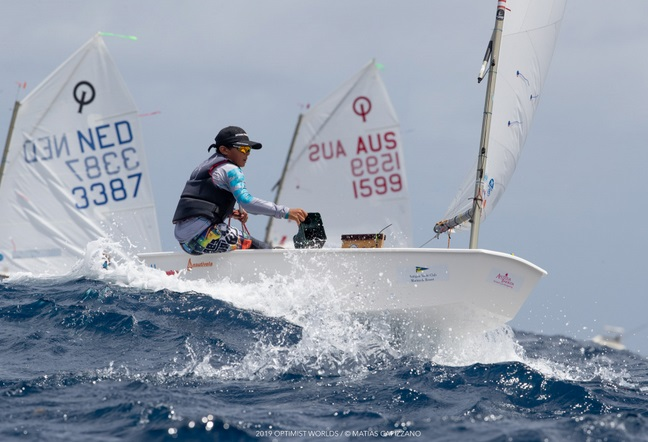 Optimist - World Championship 2019 - English Harbour ANT - Day 2