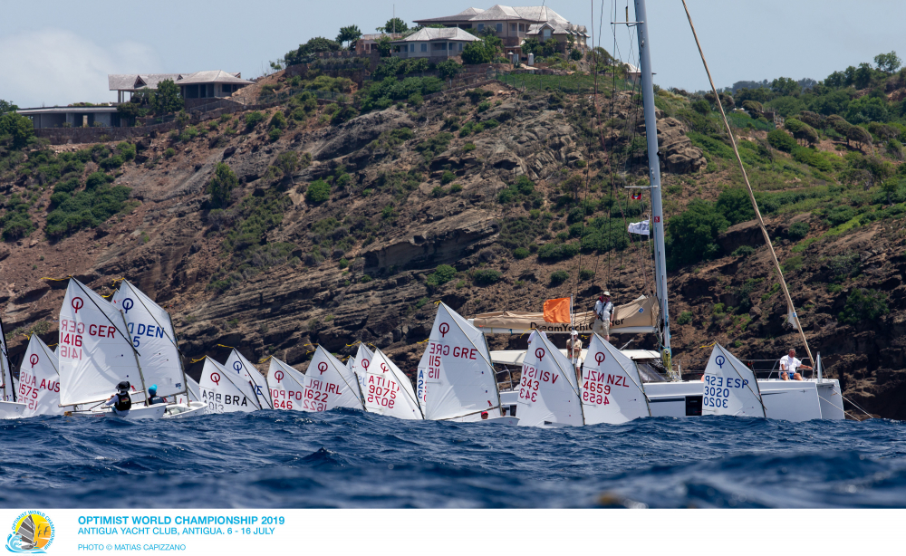 Optimist - World Championship 2019 - English Harbour ANT - Day 7