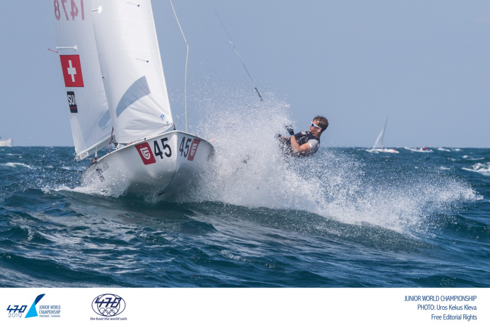 470 - Junior World Championship 2019 - Portoroz SLO - Day 3