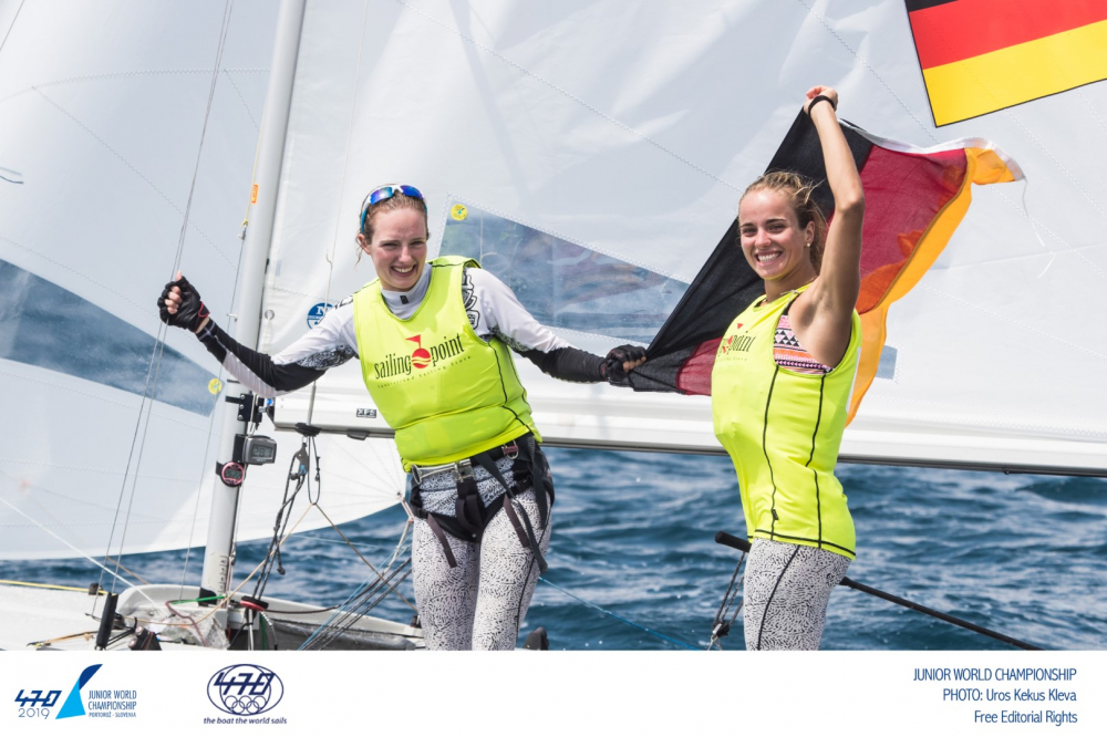 470 - Junior World Championship 2019 - Portoroz SLO - Final results