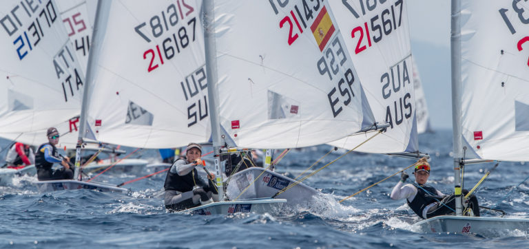 Laser Radial - Youth European Championship 2019 - Athens GRE - Final results - Les titres pour lEspagne et la France, médaille de Bronze pour la Suisse