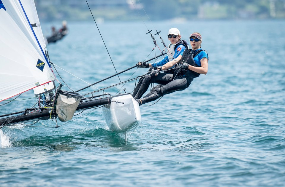 Nacra 15 - Swiss Championship 2019 - CN Versoix - Final results