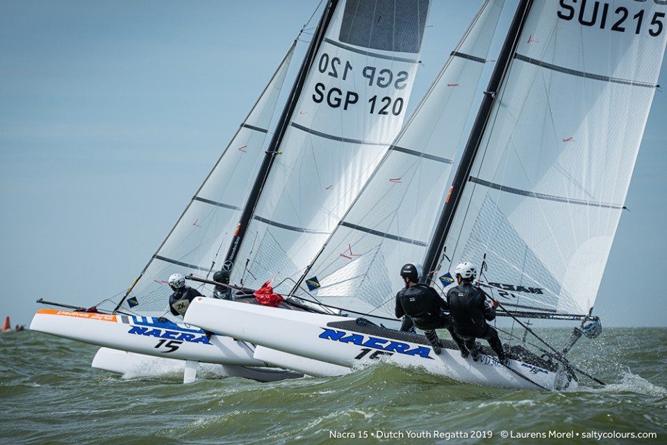 Optimist, Laser, 29er, Nacra 15, var. classes - Dutch Youth Regatta - Workum NED - Day 1