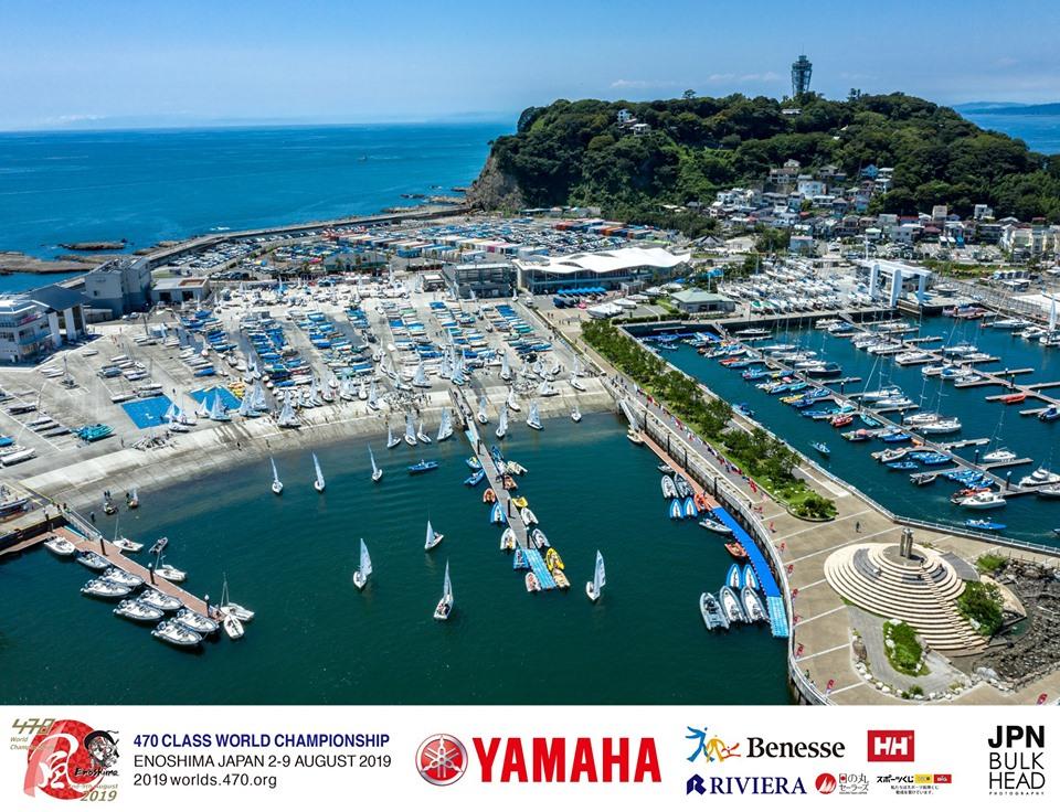 470 - World Championship 2019 - Enoshima JPN - Day 2