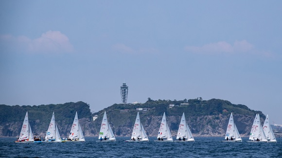 470 - World Championship 2019 - Enoshima JPN - Day 1 - No wind