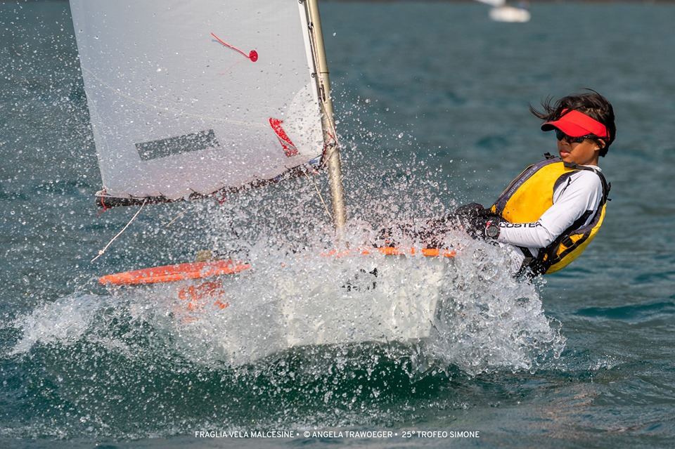 Optimist - Trofeo Simone Lombardi - Malcesine ITA - Day 1