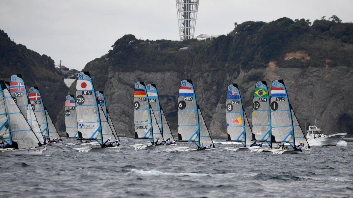 Olympic Classes - Olympic Test Event - Enoshima JPN - Day 1