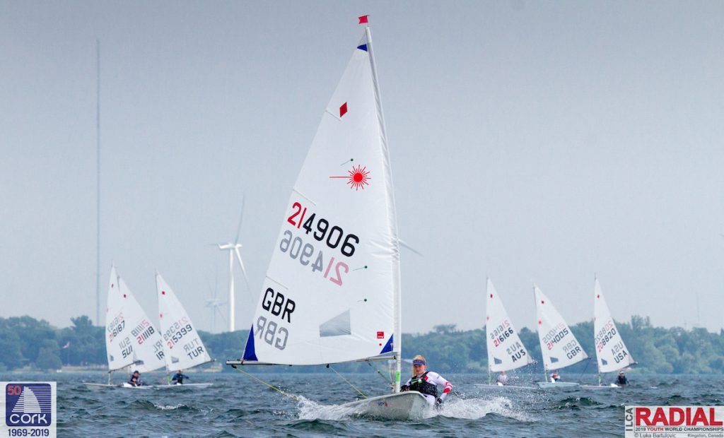 Laser Radial - Youth World Championship 2019 - Kingston CAN - Day 5