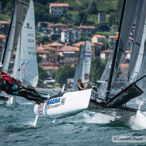 Nacra-Catamaran - World Championships 2019 - Gravedona ITA - Day 1