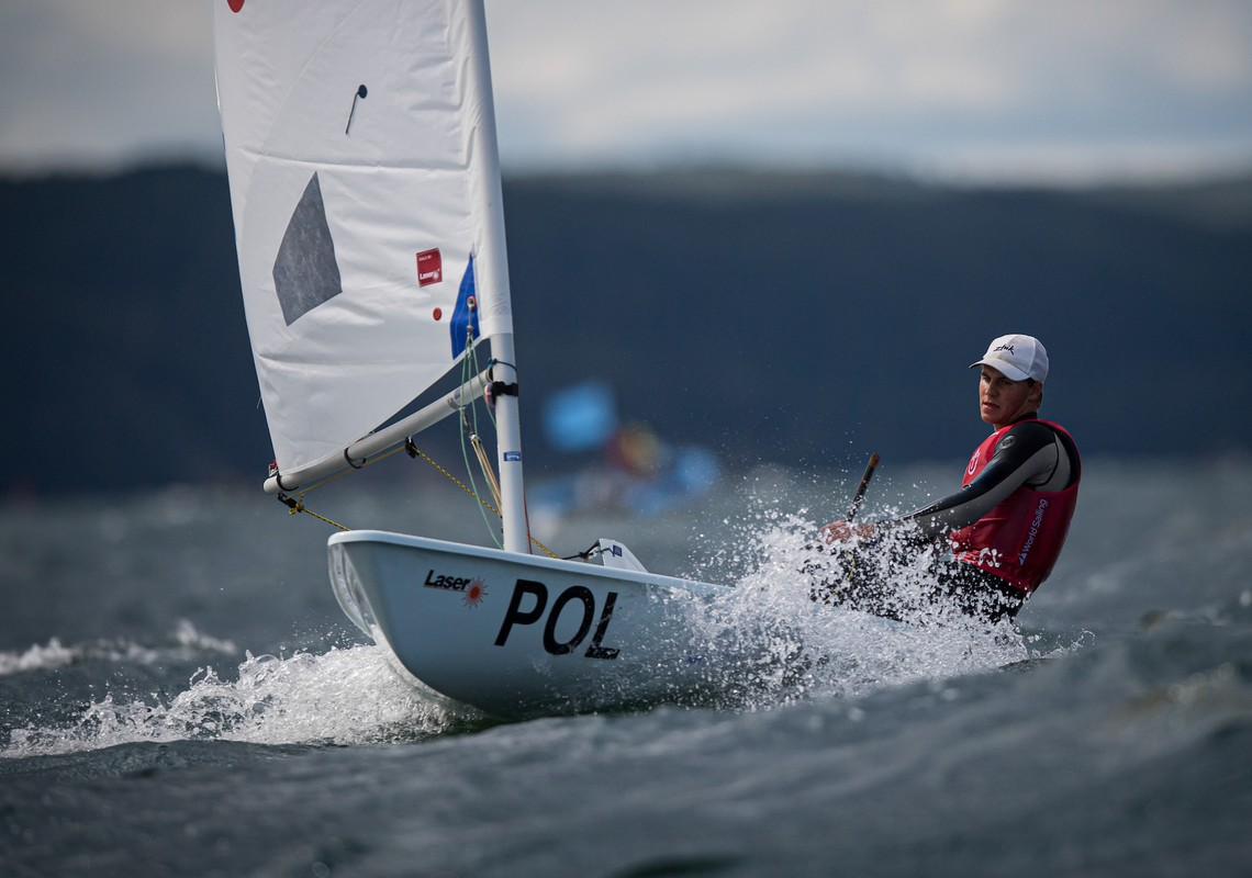 29er, 420, Laser Radial, Nacra 15, RS:X - Youth World Championship - Gdynia POL - Day 3