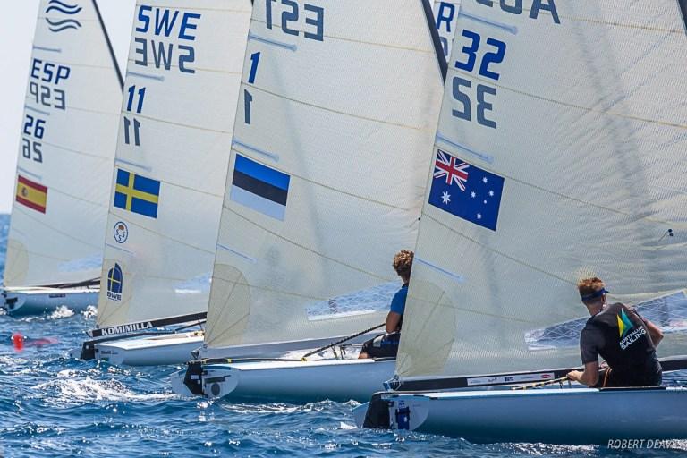 Finn -Silver-Cup (U23 World Championship) - Anzio ITA - Final results - Bronze pour Nils Theuninck SUI