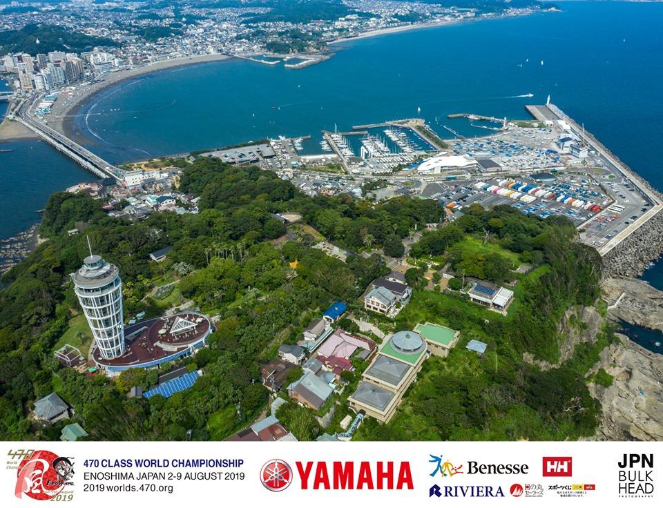 470 - World Championship 2019 - Enoshima JPN - Heute Practice Race