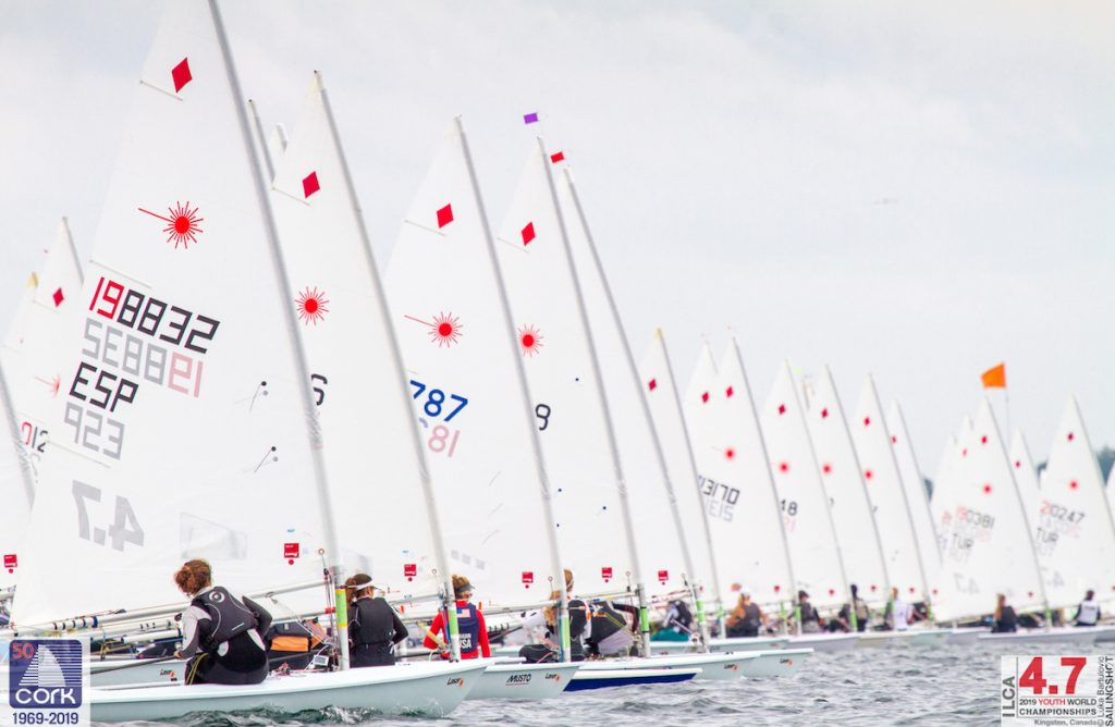 Laser 4.7 - Youth World Championship 2019 - Kingston CAN - Day 1
