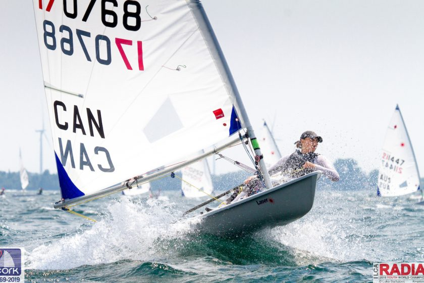 Laser Radial - Youth World Championship 2019 - Kingston CAN - Day 3
