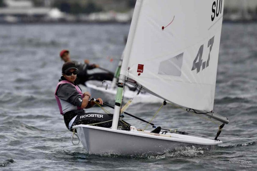 Laser 4.7 - Youth World Championship 2019 - Kingston CAN - Day 5 - Anja Von Allmen SUI championne du monde !