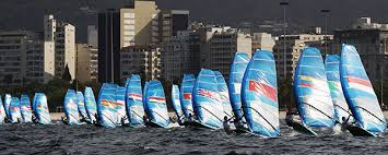 Olympic Test Event - Enoshima JPN - Day 4 - Die Schweizer - Mateo Sanz-Lanz im Medal Race