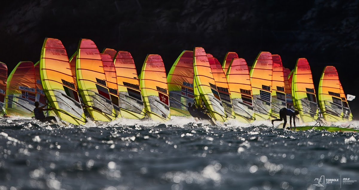RS:X-Windsurfing - World Championship - Torbole ITA - Day 1