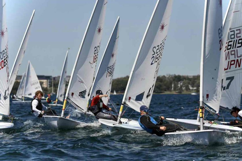 Laser 4.7 - Youth World Championship 2019 - Kingston CAN - Day 3