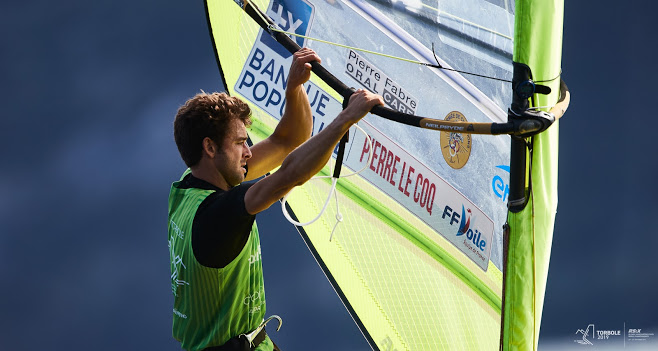 RS:X-Windsurfing - World Championship - Torbole ITA - Day 2