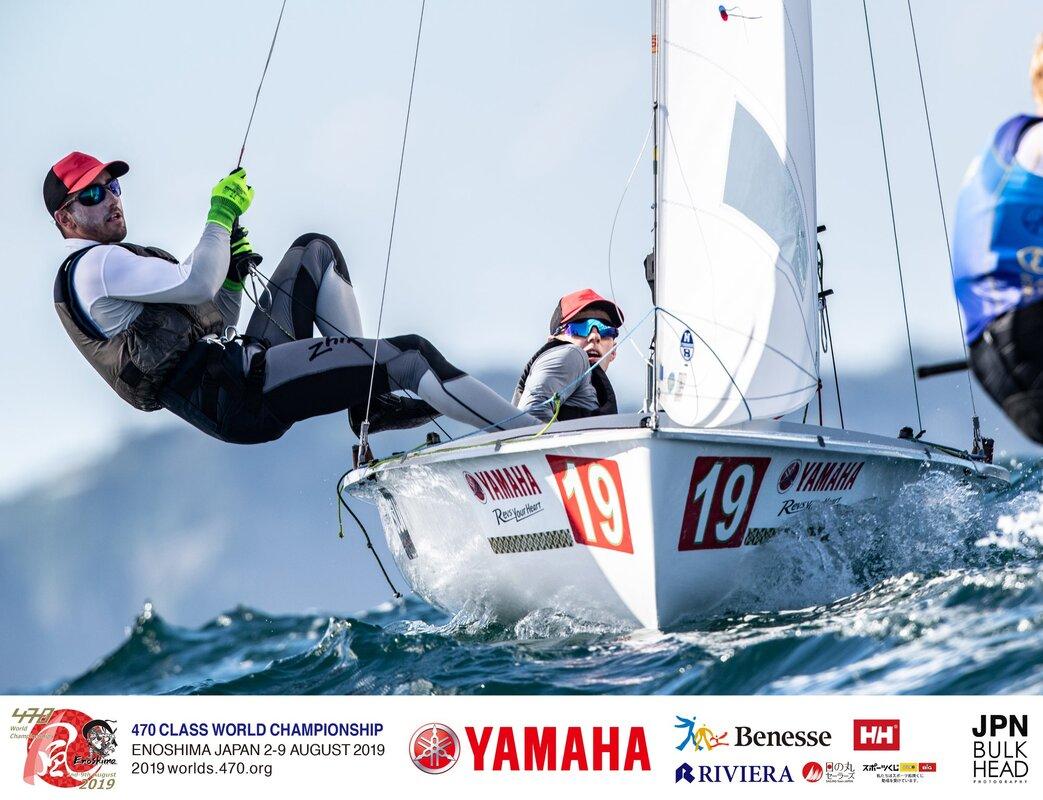 Olympic Test Event - Enoshima JPN - Day 3 - Die Schweizer