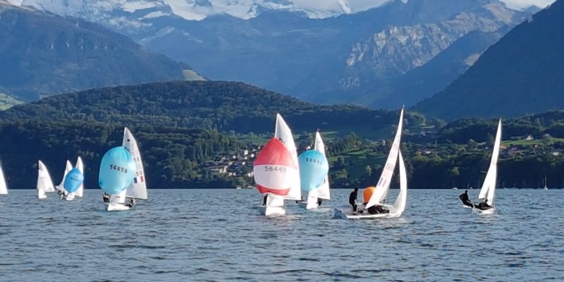 420 & 470 - Swiss Championship 2019 - RC Oberhofen - Day 2