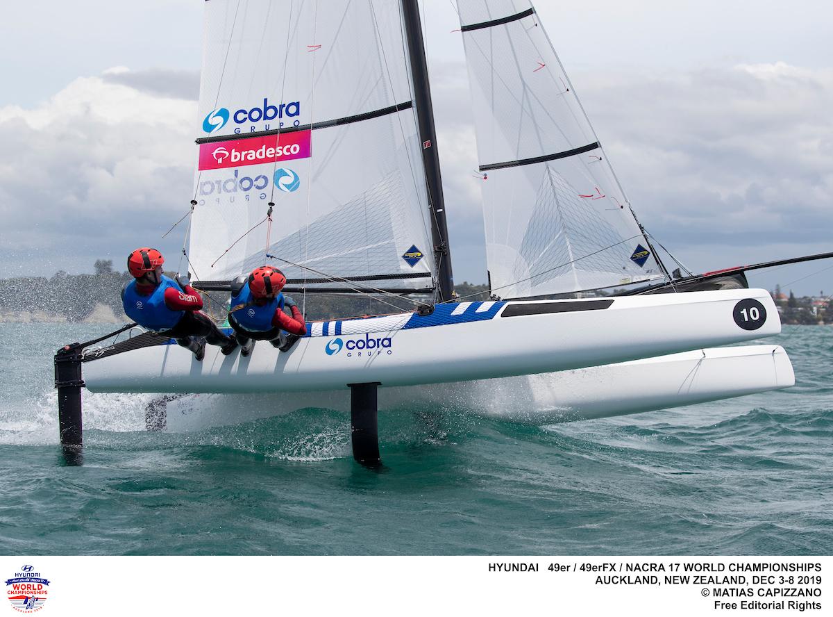 Nacra 17, 49er, 49erFX - World Championship - Auckland NZL - Day 1