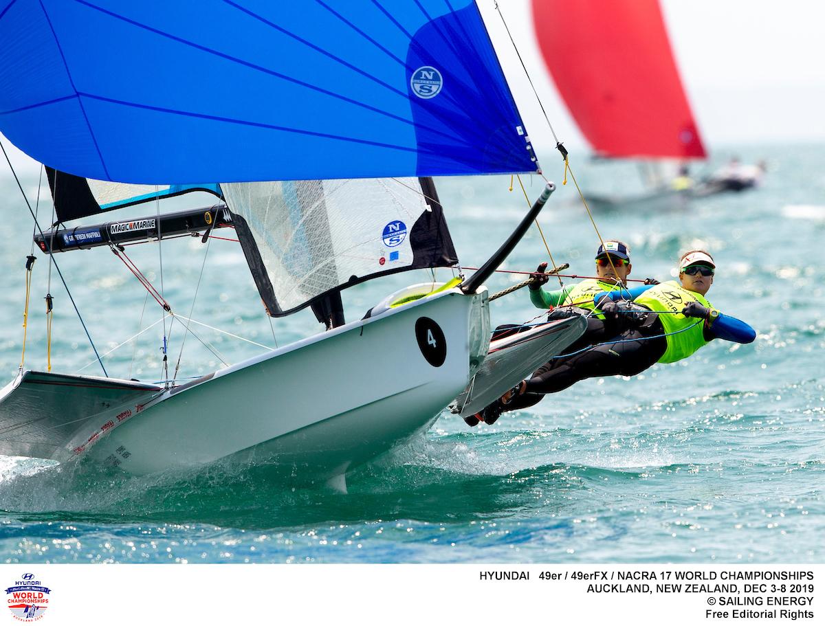 Nacra 17, 49er, 49erFX - World Championship - Auckland NZL - Day 4
