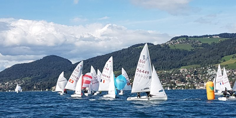 420 & 470 - Swiss Championship 2019 - RC Oberhofen - Day 3