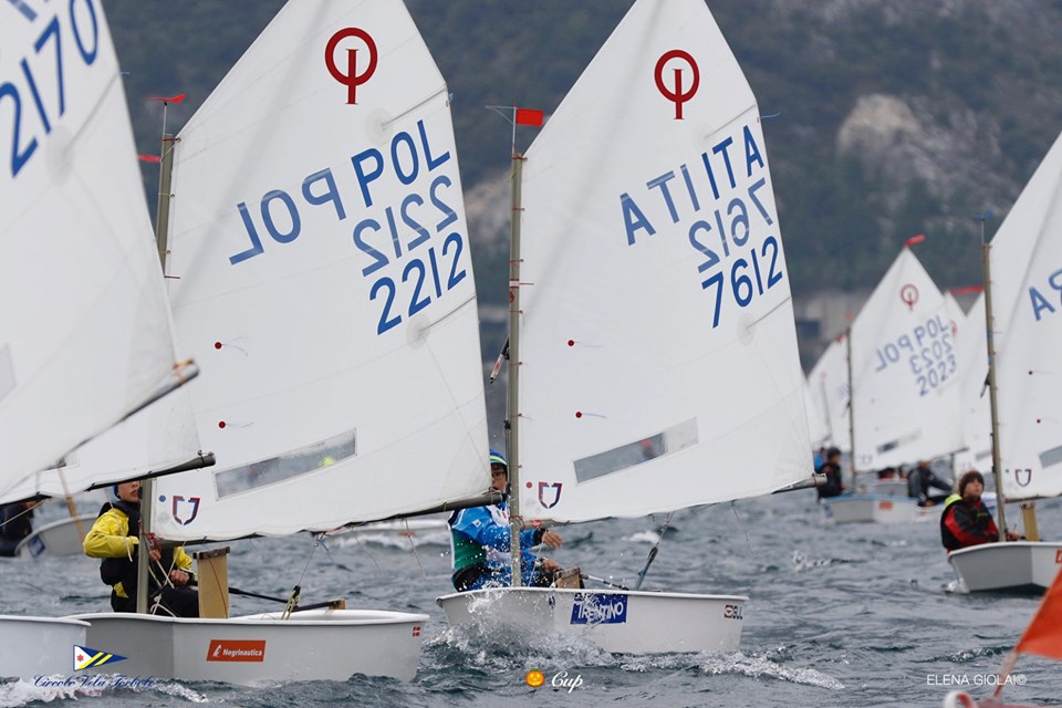 Optimist - Halloween Cup - Torbole ITA - Day 2
