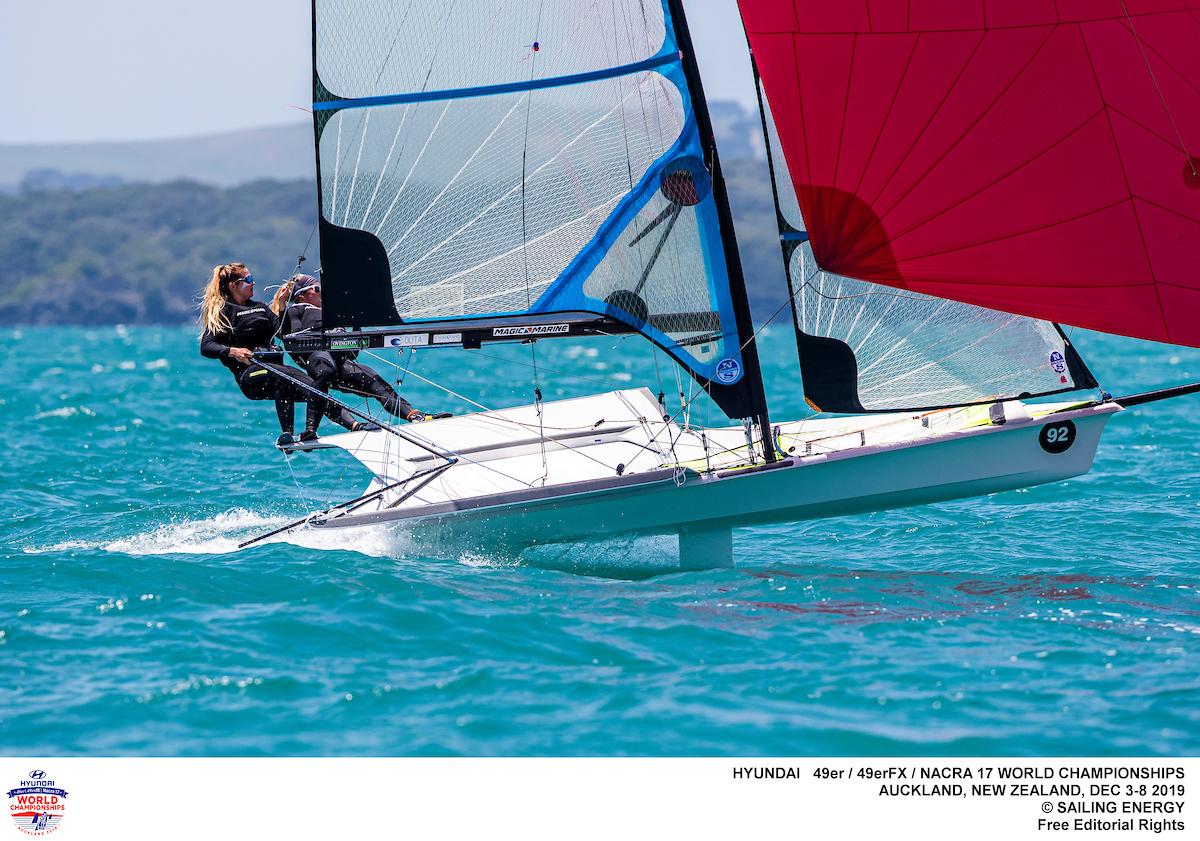 Nacra 17, 49er, 49erFX - World Championship - Auckland NZL - Day 3