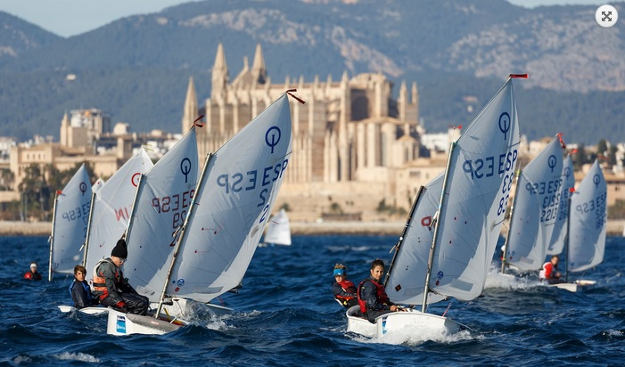 Optimist, Laser, 420, Europe - Trofeo Ciutat de Palma - Palma ESP - Final results