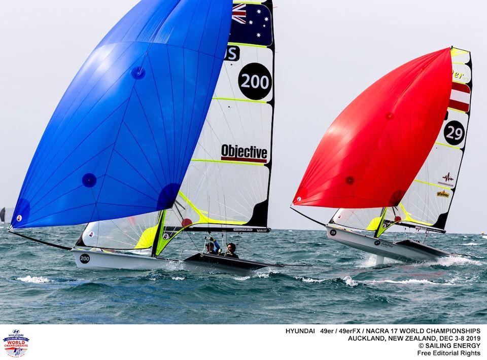 Nacra 17, 49er, 49erFX - World Championship - Auckland NZL - Day 2